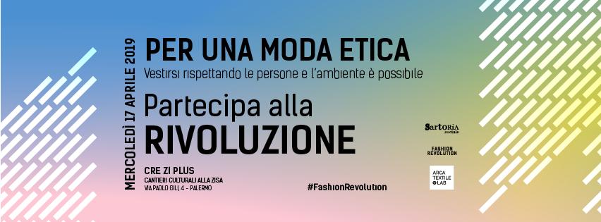 moda etica - Palermo - sartoria sociale - fashion revolution
