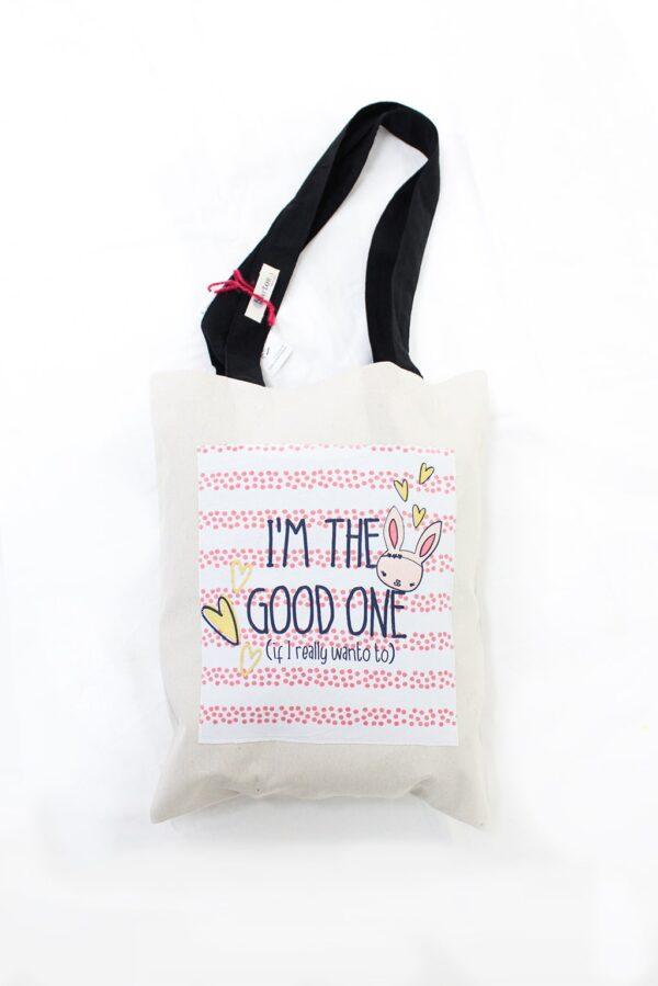 Shopper i'm the good one - sartoria sociale