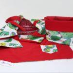 set da cucina – portateglie cestino tovaglietta – sartoria sociale