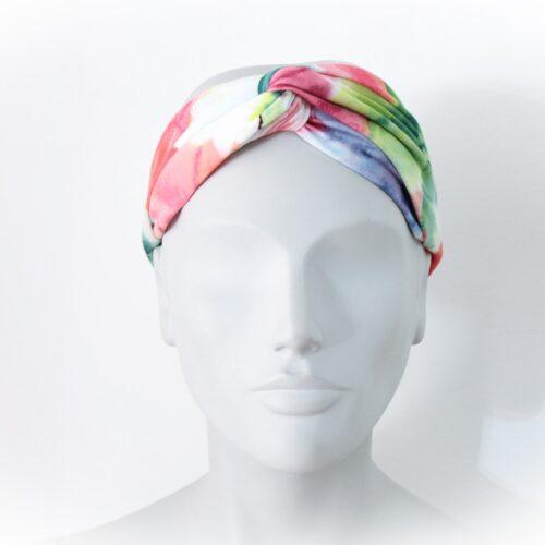Fascia per capelli colorata - sartoria sociale - palermo