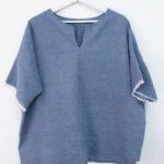 Casacca color carta da zucchero - Sartoria Sociale - abbigliamento sostenibile