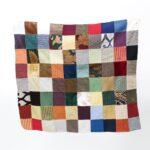 Copritavolo a quadratoni modello 3 - Sartoria Sociale - tessili per la casa