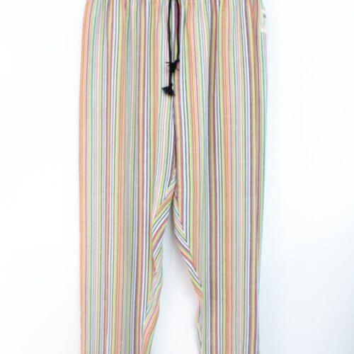 Pantaloni a righe unisex - Sartoria Sociale - shop etico online