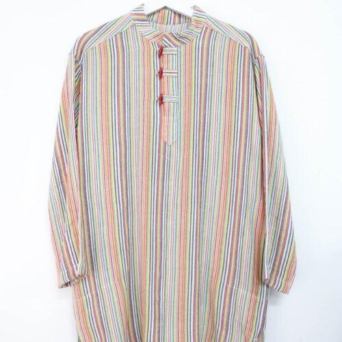 casacca a righe unisex - sartoria sociale - abiti sartoriali