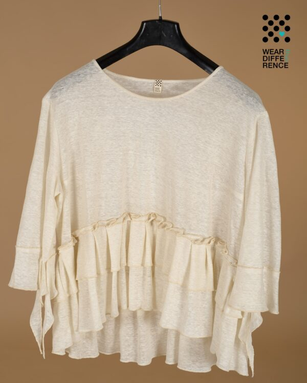blusa in jersey - sartoria sociale palermo