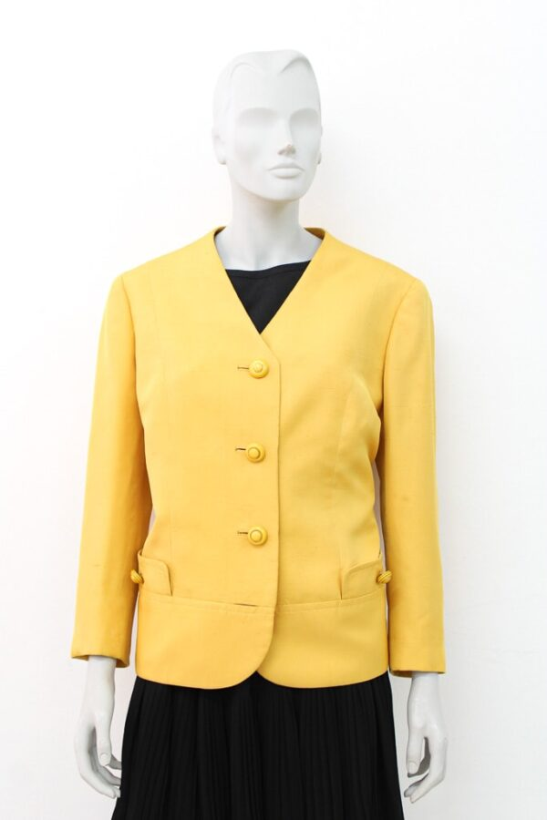 giacca gialla vintage - Sartoria Sociale Palermo