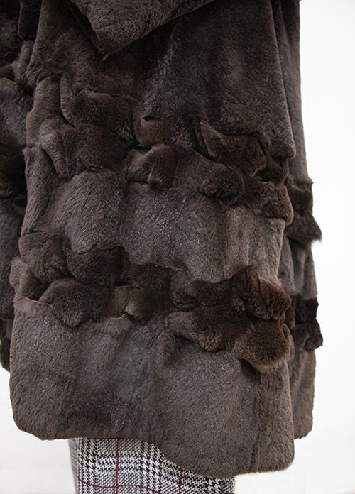 Pelliccia naturale di castoro - Abiti usati e vintage - Sartoria Sociale