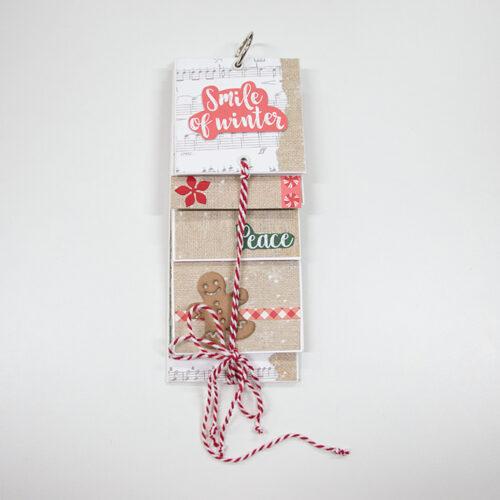 album fotografico natalizio - papercraft - Sartoria Sociale