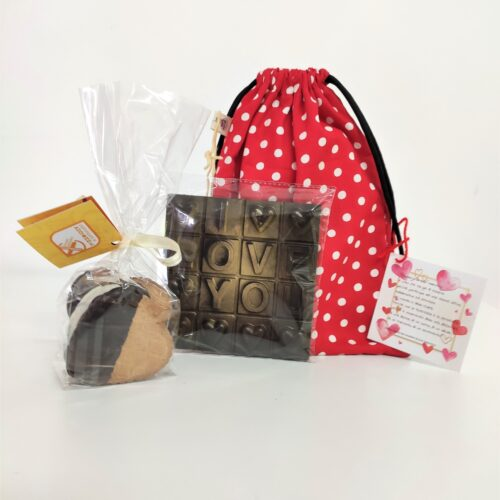 dolcezze di san valentino - sacchetti con biscotti - Sartoria Sociale Palermo