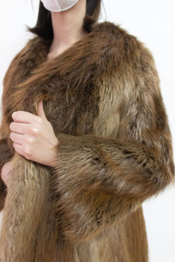 pelliccia marrone chiaro - Sartoria Sociale Palermo