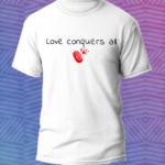 Love t-shirt – magliette personalizzate – Sartoria Sociale Palermo