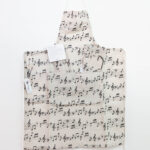 Grembiule da cucina tema musica - Sartoria Sociale - moda etica online