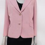 Giacca rosa confetto – abiti usati e vintage online – Sartoria Sociale Palermo