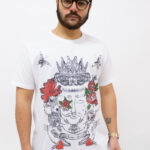 t-shirt by agnes kolignan – sartoria sociale – moro rosso