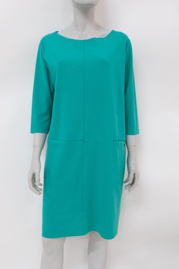 abito verde smeraldo - Sartoria Sociale Palermo