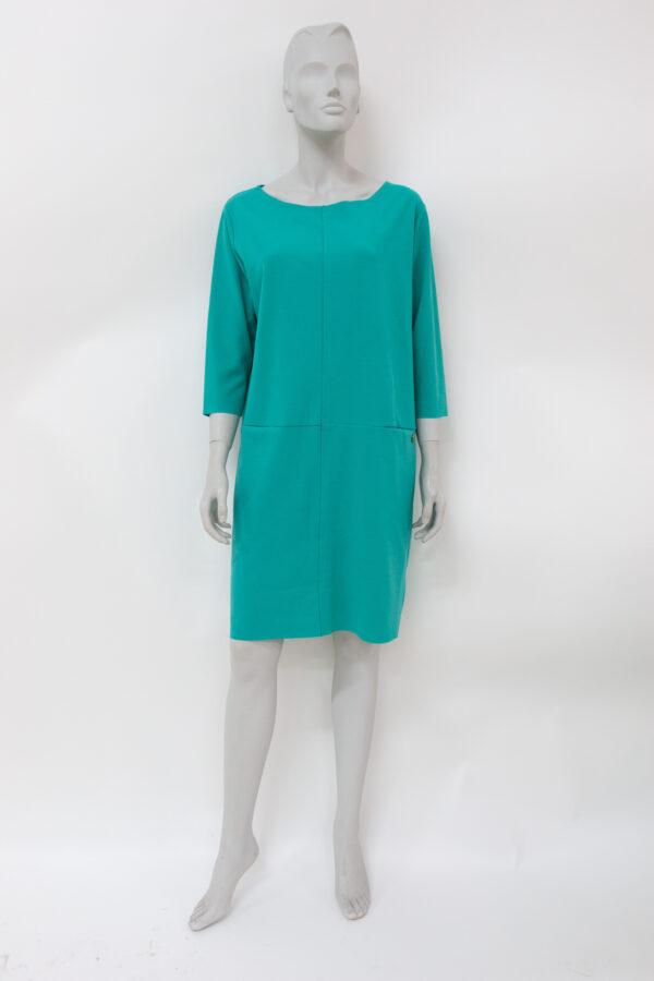Abito verde smeraldo - abiti seconda mano online - Sartoria Sociale Palermo