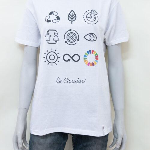 T-shirt economia circolare - sartoria sociale palermo