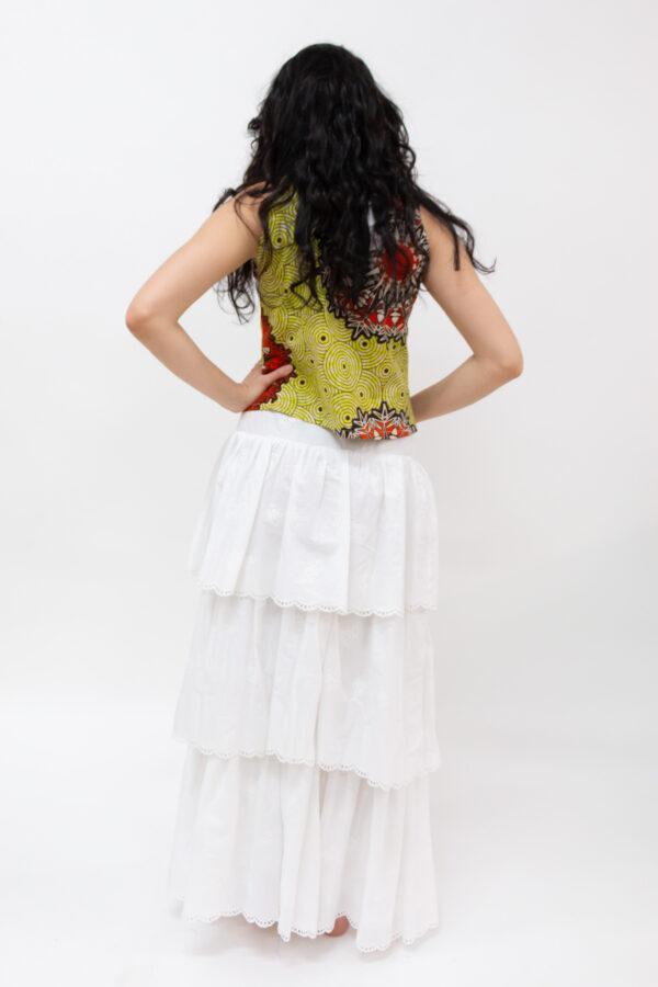 top in wax africano - Sartoria Sociale Palermo - moda etica online
