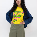 t shirt don't gove up – sartoria sociale palermo
