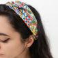 Fascia per capelli a incrocio - Abbigliamento sostenibile online - Sartoria Sociale