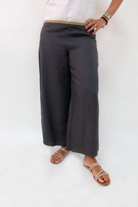 Pantapalazzo in cotone | Sartoria Sociale | Abbigliamento sostenibile online