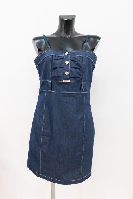tubino di jeans - sartoria sociale palermo